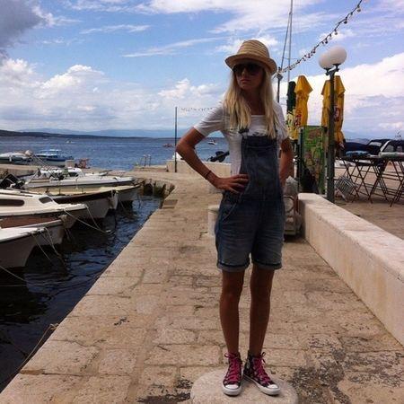 street fashion Marina na moru :-)