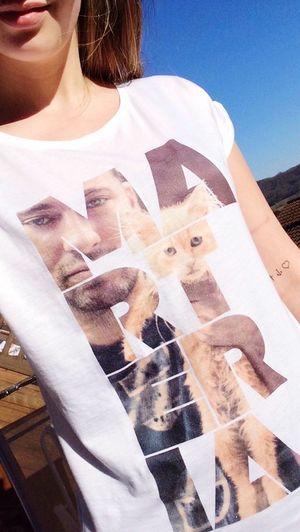 Marteria Merchandise Shirt Girl Spring Sun Cat Smile Shopping Happy