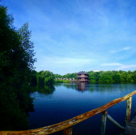 Photography Lake River Nature Jungle Clear Sky Temple Architecture The OO Mission