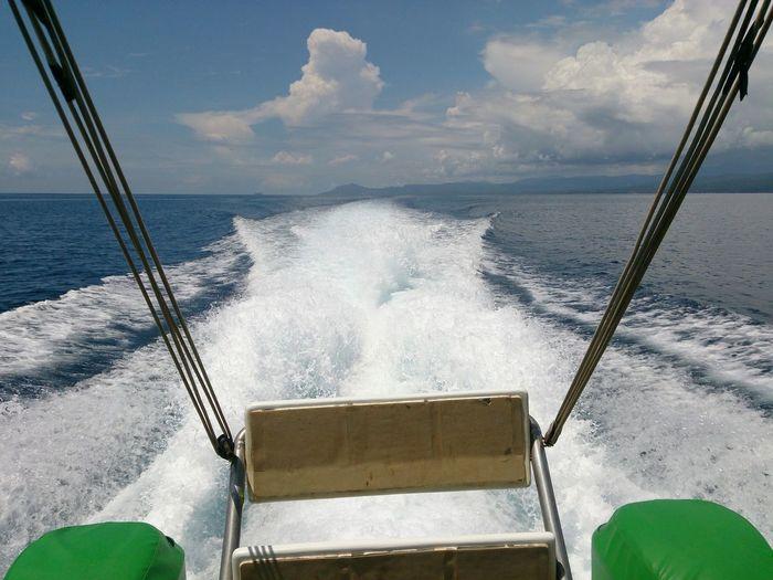 Enjoying The Sights Sail Away, Sail Away Boat Ride christmas escaping