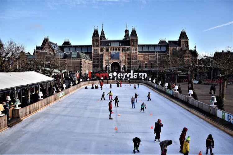Amsterdam Amsterdam Built Structure Architecture Museum Olland Olanda Rijksmuseum Amsterdam Europe Trip