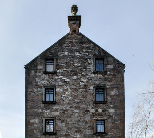 old stone facede and house Antique Architecture Architecture Building Building Exterior Built Structure Chimney Day Deatil Door Façade Historical Building Home Low Angle View No People Old Old Buildings Old Town Residential  Roof Scotland Sky Small Stone Window
