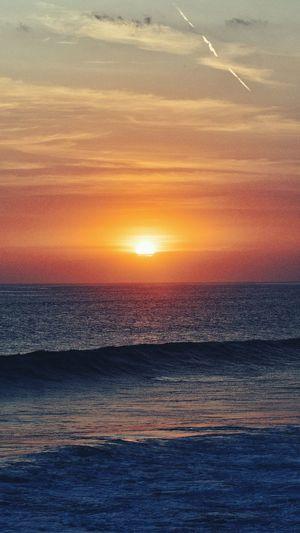 Sea Sunset Scenics Water Horizon Over Water Sun Tranquil Scene Beauty In Nature Idyllic Tranquility Orange Color Majestic Nature Vibrant Color Sky Seascape Non-urban Scene Travel Destinations Tourism Cloud - Sky Eye4photography  EyeEm Best Shots