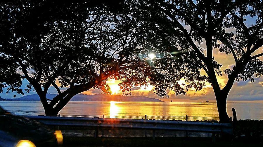 What a wonderful sunset. Sabah Borneo Naturelover First Eyeem Photo