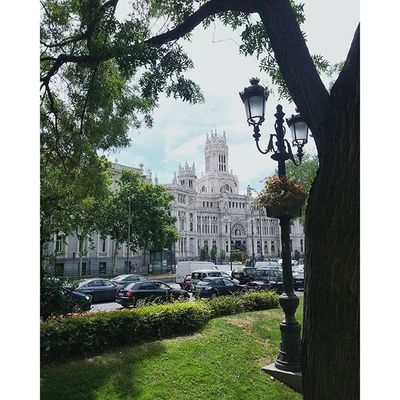 I have never wanted to come back from places that I felt in love with 💔 Cibeles Palace Travelwithgabi Wanderlust architecture missit