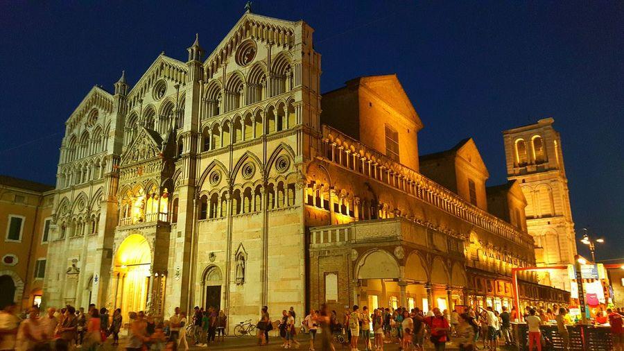 Ferrara Ferrarabynight Duomo Duomo Di Ferrara Historical Monuments Historical Center Medieval City My City My Best Photo 2015