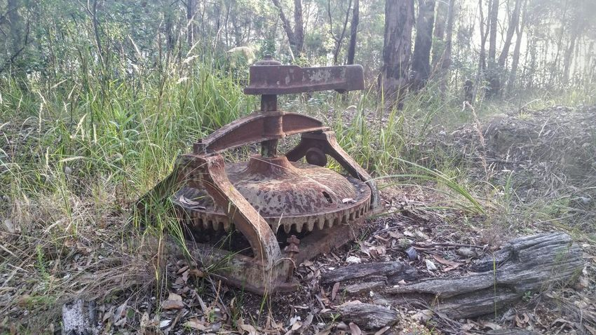 This is an old horse drawn puddling machine that was used to break up the clay that would hold the sand, gravel and gold together in the early 1880's at the Montreal goldfields in Bermagui Gold Puddling Machine Hardwork Bonza Check This Out Enjoying Life Showcase: January Capture The Moment Samsungphotography Fragility Wallaga Lake From My Point Of View Me, My Camera And I