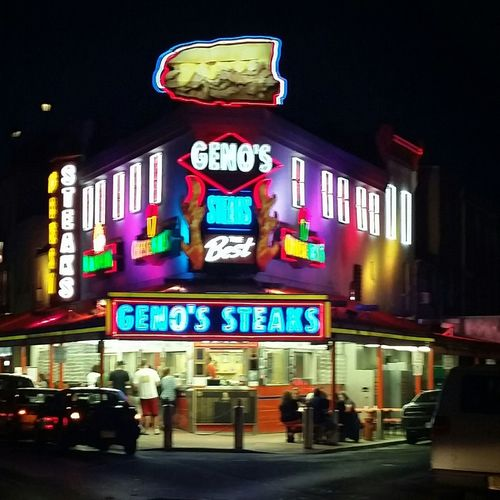 Best cheesesteaks are from Philadelphia ❤ Travelling Photo Taking Photos Untold Stories Enjoying Life Smellsgood Cheesesteak Night Lights Great Views Food