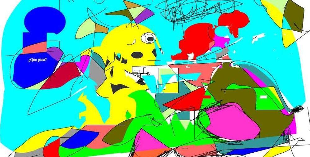 Adult Algo Similar A Pica Art Modern Arts Culture And Entertainment Colorines @ Brighton Pier Dibujar Para Entender Modern Architecture Multi Colored Neorenacentista Painted Image