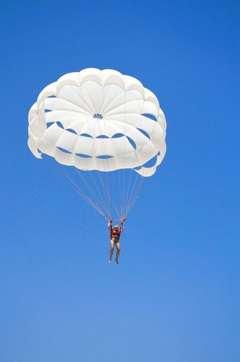 Be. Ready. And FLY AWAY! Fly Like A Bird! Be. Ready. Parachute Extreme Sports Challenge Dream Paragliding Beach Sports