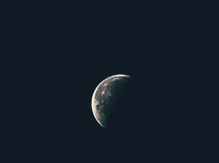 Astronomy Moon Beauty In Nature Nature Space Night Sky Crescent Half Moon Astrology Planetary Moon Outdoors No People Moon Surface Galaxy Solar Eclipse Alexander Rolsen / EyeEm @RolsenStudios @AlexanderRolsen