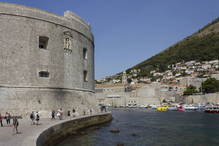 Dubrovnik Dubrovnik, Croatia Architecture Built Structure Building Exterior Nature Travel Destinations Day Outdoors Town Wall Townwall Croatia Water Sky Group Of People Clear Sky Tourism Travel Real People City Crowd History Tourist Nautical Vessel Large Group Of People