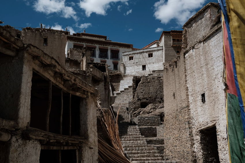EyeEm Selects Himalayas Tibetan Buddhism Sky Building Exterior Culture Cultural Heritage Landscape Landscape_photography Travel Photography Travelgram India Documentary Photography Architecture Storytellingphotography Visual Stories Ontheroad Reportage
