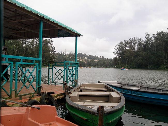 Unedited Lakeside Lake Lake View Boats Colours Eyem Gallery Eyemtravel Southindia Ooty