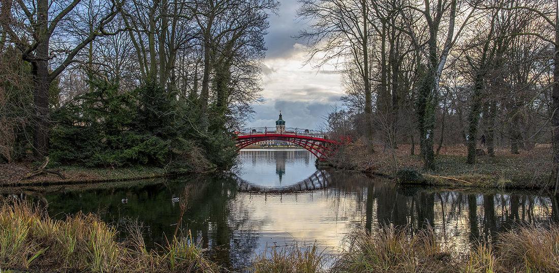 Berlin Bridge - Man Made Structure Nature No People Outdoors Reflection Schloss Charlottenburg Sky Travel Destinations Water