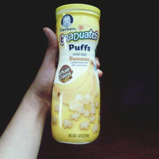 Banana Babyfood Puffs