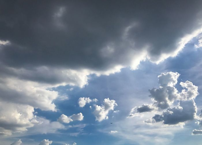 The sky in near the rain Nature Cloud - Sky Sky Backgrounds Beauty In Nature Outdoors Day Sky Only Blue Nature Clouds Cloudy