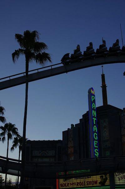 ユニバーサルスタジオジャパンの夕景 USJ USJ In Osaka Evening View