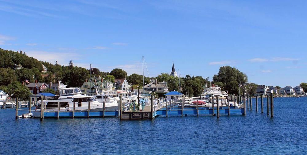 Blue Boat Calm