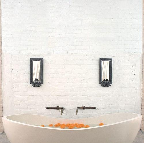 My bathtub in Ubud, just like a face, symmetry brings beauty. Bali Ubud Ubud, Bali Bathroom Bath
