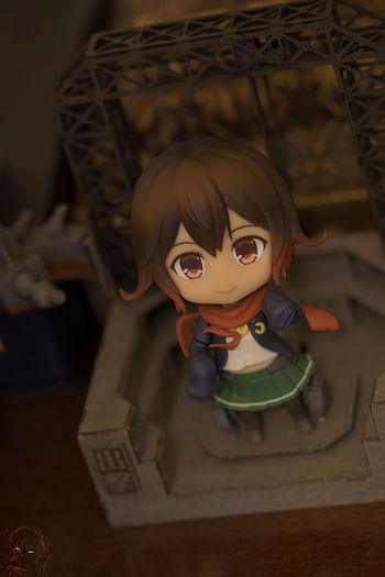 Mutsuki-chan arrived :D 90mm Mutsuki Portrait Of A Woman Childhood Close-up Day Indoors  Kancolle Nendoroid No People Portrait Selective Focus Sony Sony A6000 Sonyalpha Toyphotography Wood - Material