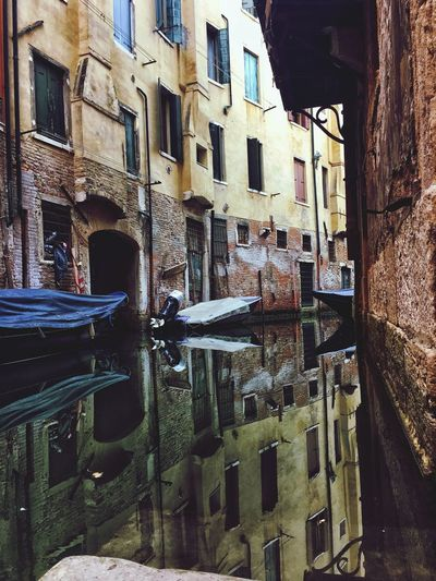 Venice reflection Reflection Venice Architecture Building Exterior Built Structure Outdoors No People Day City