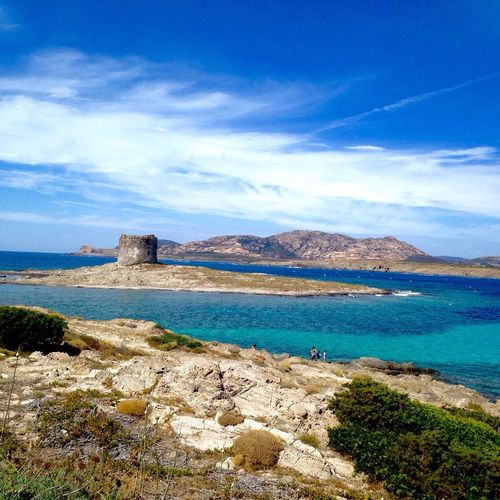 Sardegna - Spiaggia La Pelosa Sardegna Lapelosa Stintino Mare Isola First Eyeem Photo