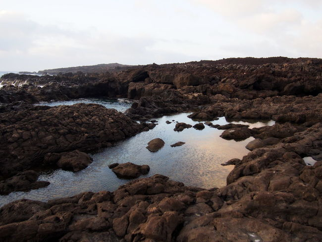 Canarias Canary Islands El Golfo Lanzarote Lanzarote Lanzarote Island Lanzarote-Canarias Beauty In Nature Day El Golfo Landscape Nature No People Outdoors Physical Geography Rock - Object Rock Formation Scenics Sky Tranquil Scene Tranquility Water