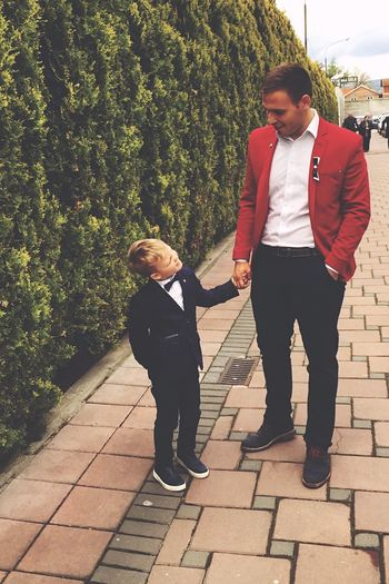 Love Happiness Class Elegance And Class Kids Father & Son Fatherandsonmoments First Eyeem Photo
