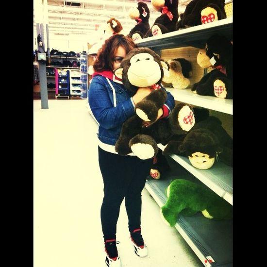 Drunk As Shit At Walmart & I Want This Monkey