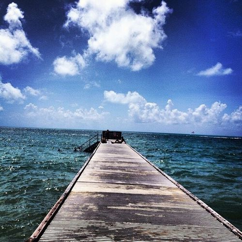 Pier Sea And Sky Sea Sun Relaxing Goto Blue Traveling Travel Voyage Feeling Thankful Nature Tunning Detail