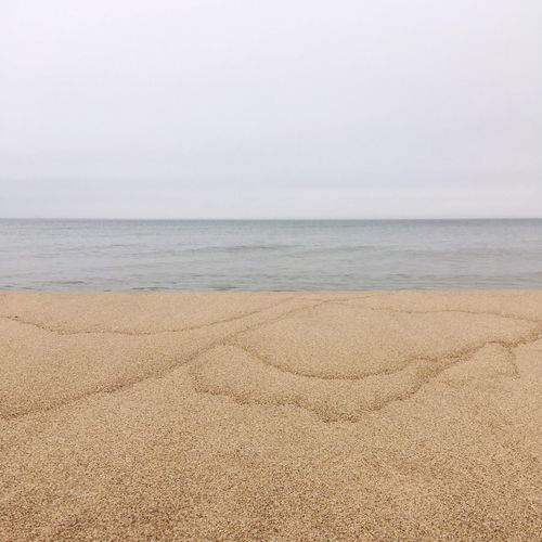Lake Michigan Sea Beach Tranquility Nature Scenics Horizon Over Water Tranquil Scene Sand Beauty In Nature Water Day No People Outdoors Sky Michigan
