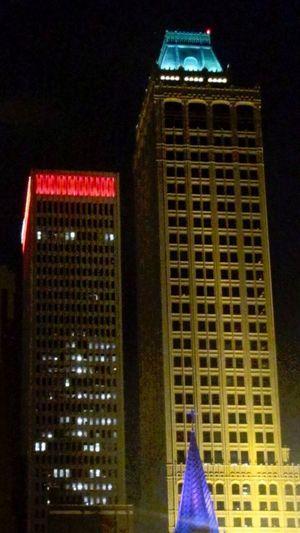 Tulsa, Oklahoma Downtown Oklahoma Tulsa,oklahoma Tulsa Downtown Tulsa City Lights Buildings Oklahoma Architecture EyeEm Best Shots - Architecture Building Exterior BuildingPorn Building Structures Buildingsatnight Buildings At Night Building Lights Cities At Night