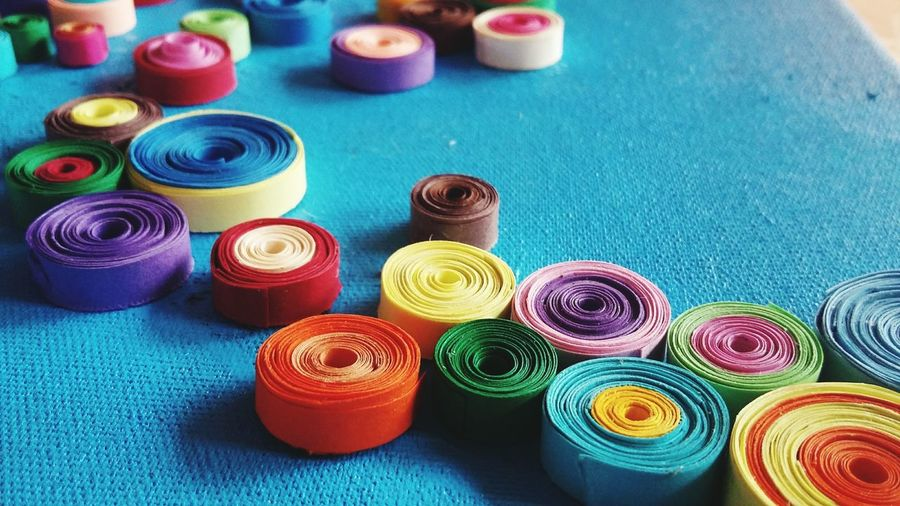 Colors Quilling Quilling Paper Quillingart