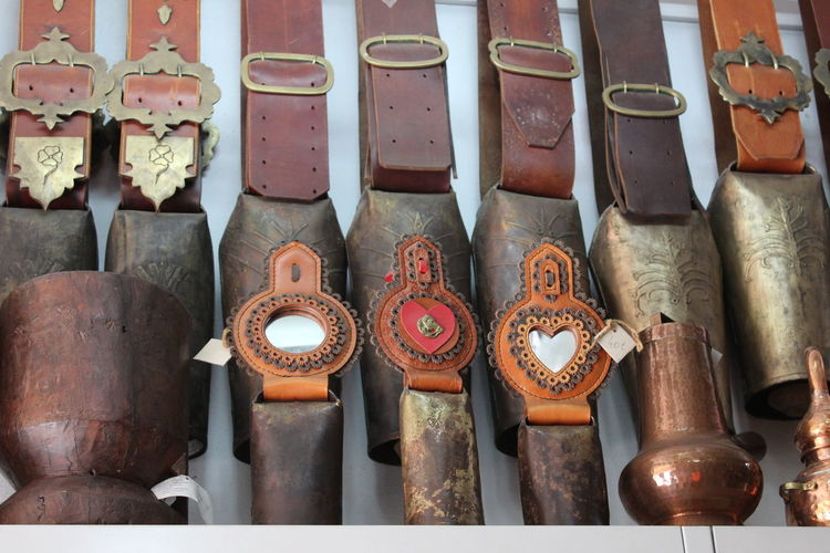 Alentejo,Portugal Chocalhos Indoors  Large Group Of Objects Metal Metallic No People Old-fashioned Portuguese Treats Rusty