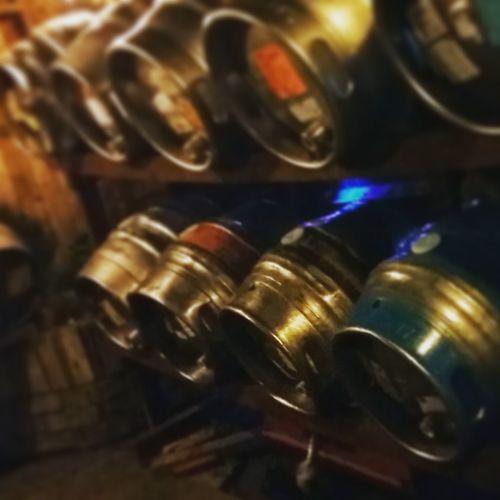 Beer Kegs Beer Festival Pub