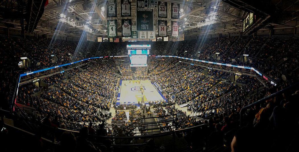 Marquette basketball Marquette Basketball Text Night Stadium Illuminated Large Group Of People Architecture Crowd People
