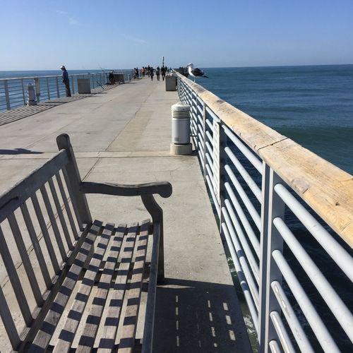 Hermosa Pier Pier Bench