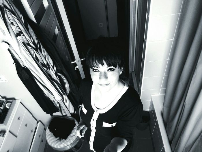 Hello World B&W Portrait Oneplusone Selfie ✌ Color Portrait Barhroom