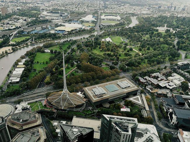 Melbourne Federationsquare Flinders Street Station Riverside Royal Botanic Gardens, Melbourne Shirne Of Remembrance Melbourne Cricket Ground Built Structure