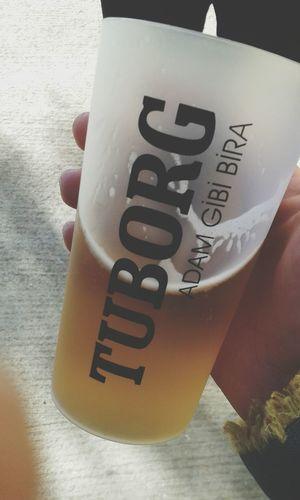 Beer Tuborggold % 100 Malt adam gibi bira (Y)