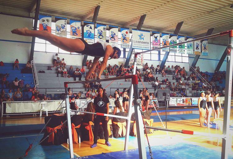 Gymnastics Gimnasia Artistica Sport Sport Indoors  Sports Clothing Gym Exercising Day Athlete