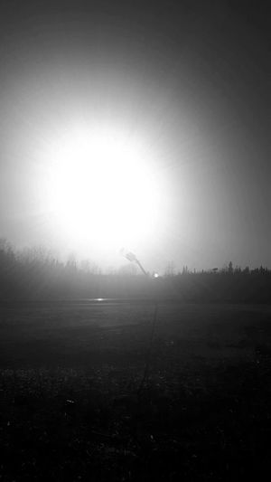 Tranquility Fog No People Outdoors Nature Beauty In Nature Day Sky Abandoned Sunrays Sunshine Sun Fog