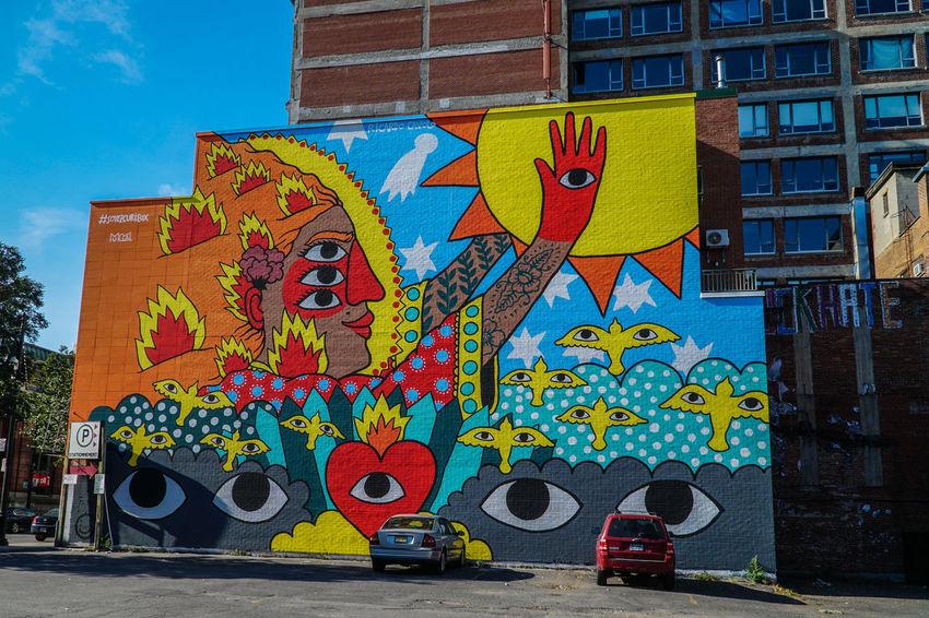 Architecture City Graffiti Street Art/Graffiti Tourist Attraction  Canada Coast To Coast City Colors Colorful Graffiti Art Graffiti Wall Street Art Tourism Destination Tourist Destination Travel Destinations