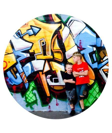 Never Abandoned Graffitti
