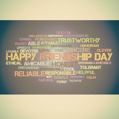 HappyFrndshipDayGuys !! 🎉🎊🎉 TaggedOnesBesties HappyFrndshipDayToYouAll .....! HOPE U FELLAS MAKE MILLIONS AND MILLIONS OF FRNDS THROUGHOUT UR LYF....!!✌