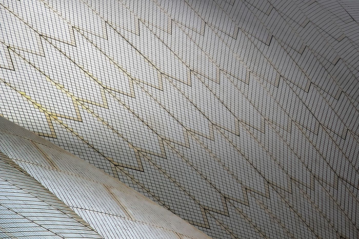 Roof of the Sydney Opera House Architectural Detail Architecture Built Structure Colorful Colors Culture Photography Relaxing Sydney Opera House Sydney, Australia Tiles Tiles Textures