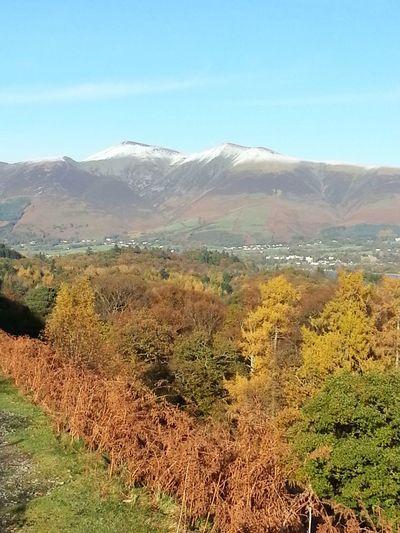 The Lake District  Mountain Range Scenics Landscape