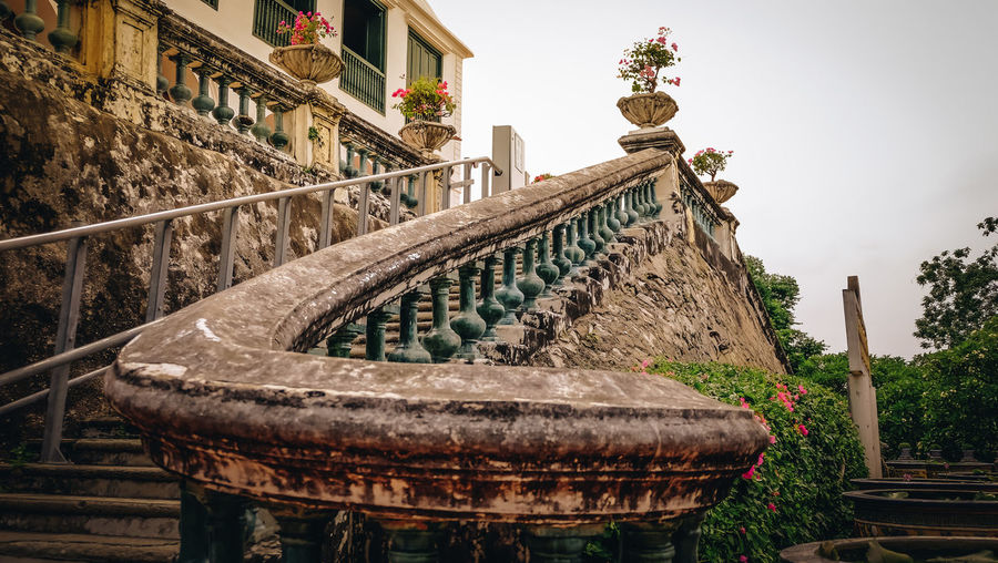 Architecture Building Building Exterior Built Structure Day History No People Old Outdoors Railing Sky Travel Destinations
