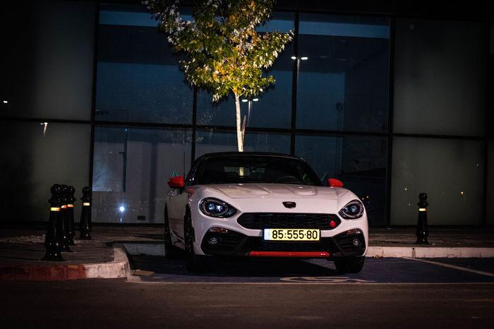Italy Nightphotography Carshot Carspotting CarShow Cars Car AbarthOnly Fiat Abarth